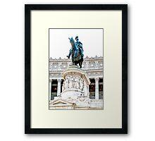 Vittorio Emanuele II Framed Print