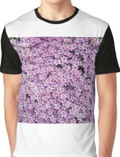 pink flower bed Graphic T-Shirt