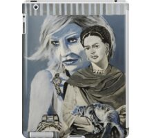 Mashup in Blue iPad Case/Skin