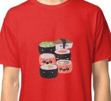 Set of funny Sushi rolls Classic T-Shirt