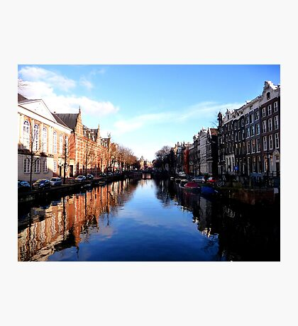 amazing Amsterdam reflections Photographic Print