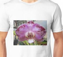 Pink and Purple Orchid  Unisex T-Shirt