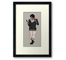 Fall Hunk -Voltron- Framed Print