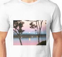 Framing the Super Moon! Tin Can Bay, Queensland. Unisex T-Shirt