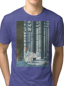 Ice Princess Tri-blend T-Shirt