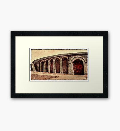 The Arena Framed Print