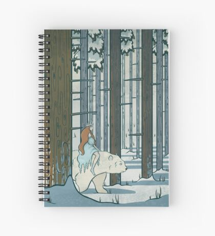Ice Princess Spiral Notebook