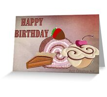 Birthday treats  Greeting Card