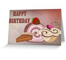 Birthday treats  Greeting Card