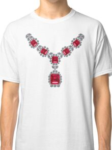 'Look at Me' Ruby Necklace Classic T-Shirt