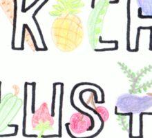Kochlust Sticker