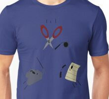 The Showdown: Rock vs Paper vs Scissors Unisex T-Shirt