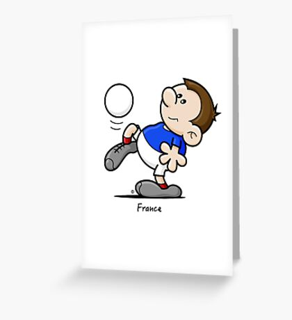 2014 World Cup - France Greeting Card