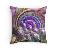 """Bubble Fun"" Throw Pillow"