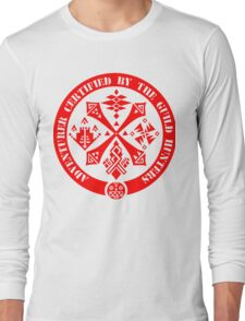 Certified By The Guild of Hunters RED Long Sleeve T-Shirt