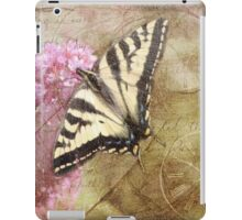 Time For The Butterfly iPad Case/Skin