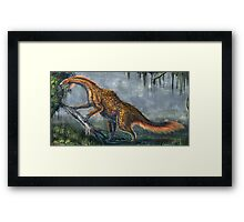 Nothronychus Graffami Restored Framed Print