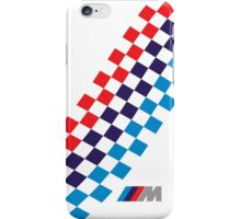 BMW M checkered design iPhone Case/Skin