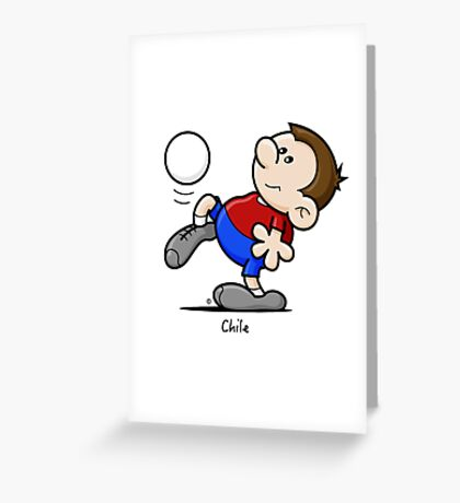 2014 World Cup - Chile Greeting Card