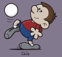 2014 World Cup - Chile Kids Tee