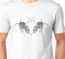 Wasp Symmetry Unisex T-Shirt
