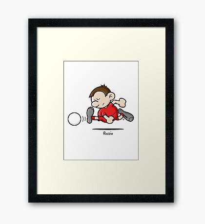 2014 World Cup - Russia Framed Print