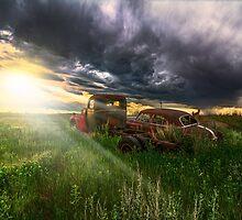 Prairie Drive-In by Patrick Kavanagh