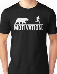 MOTIVATION (Bear Chasing Runner) Unisex T-Shirt