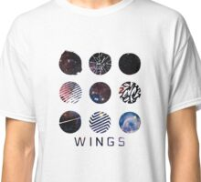 BTS- Wings Galaxy Classic T-Shirt