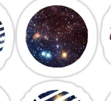 BTS- Wings Galaxy Sticker