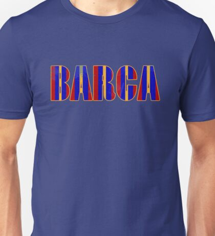 FC Barcelona Gifts Design Unisex T-Shirt