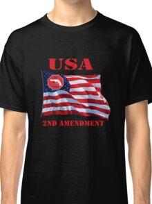 USA-We bear Arms- 2nd Amendment Classic T-Shirt