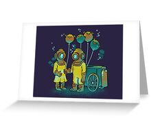 The Balloonfish Vender  Greeting Card