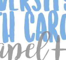 UNC Chapel Hill Sticker