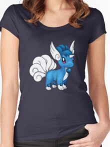 Vulpix/Dragonair Women's Fitted Scoop T-Shirt