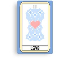 Love (Tarot Card III) Canvas Print