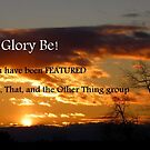 sunset feature banner by MaryinMaine