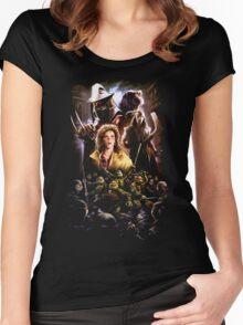 Teenage Mutant Ninja Turtles - 1990 Women's Fitted Scoop T-Shirt