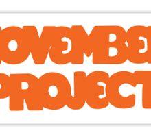 november project Sticker