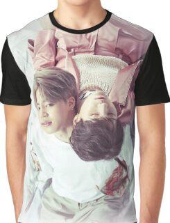 BTS- Suga & Jimin Graphic T-Shirt