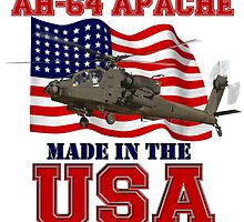 AH-64 Apache Made in the USA by Mil Merchant