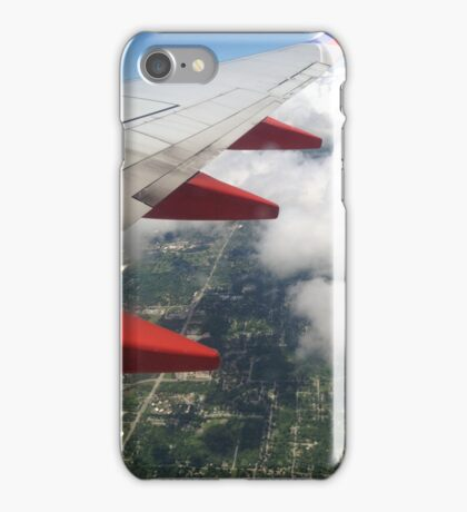 Through the Airplane Window iPhone Case/Skin