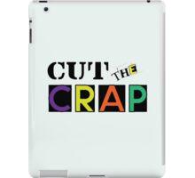Cut The Crap - Cool Vintage Style Funny Retro Joke Design iPad Case/Skin