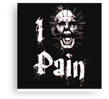 I Am Pain. Canvas Print