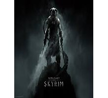 Skyrim Theme Photographic Print