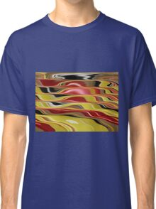 Wavy Abstract Classic T-Shirt