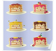 Pancakes Obsession Poster