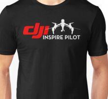 DJI inspire pilot black Unisex T-Shirt