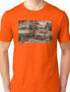 Two Larks And A Lake Unisex T-Shirt