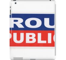 proud to be republican iPad Case/Skin